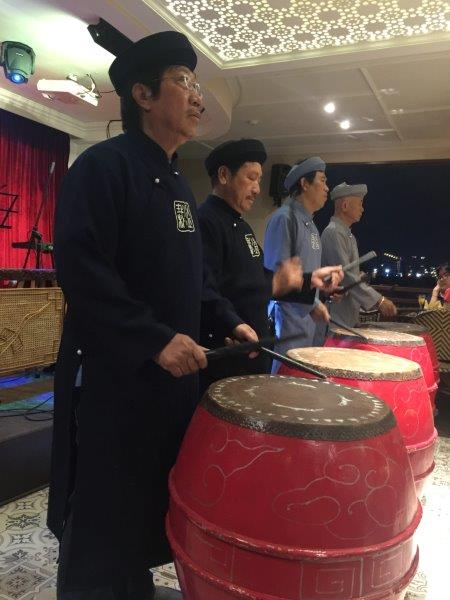 Drumming on the cruise