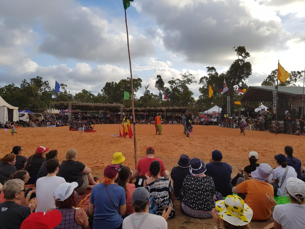 Garma festival performance